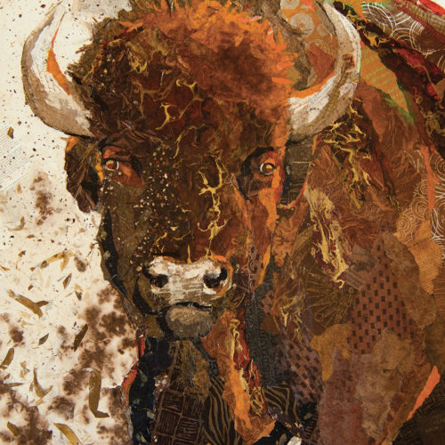 Bison - Art Althea - 48x36